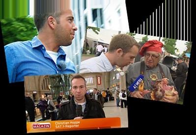 Christian Hoppe: Reporter für RTL2, RTL, Sat.1 und AZ MEDIA TV